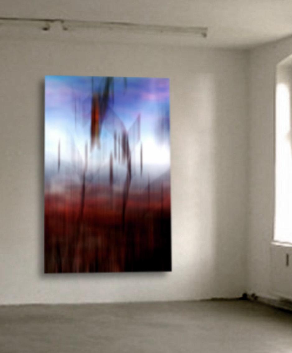 abstrakte fotografie - abstract XXIX (Landscape), 2017