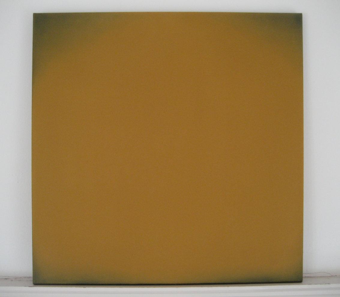 radical painting - veroneser siena, 2009 / Privatbesitz Winterthur