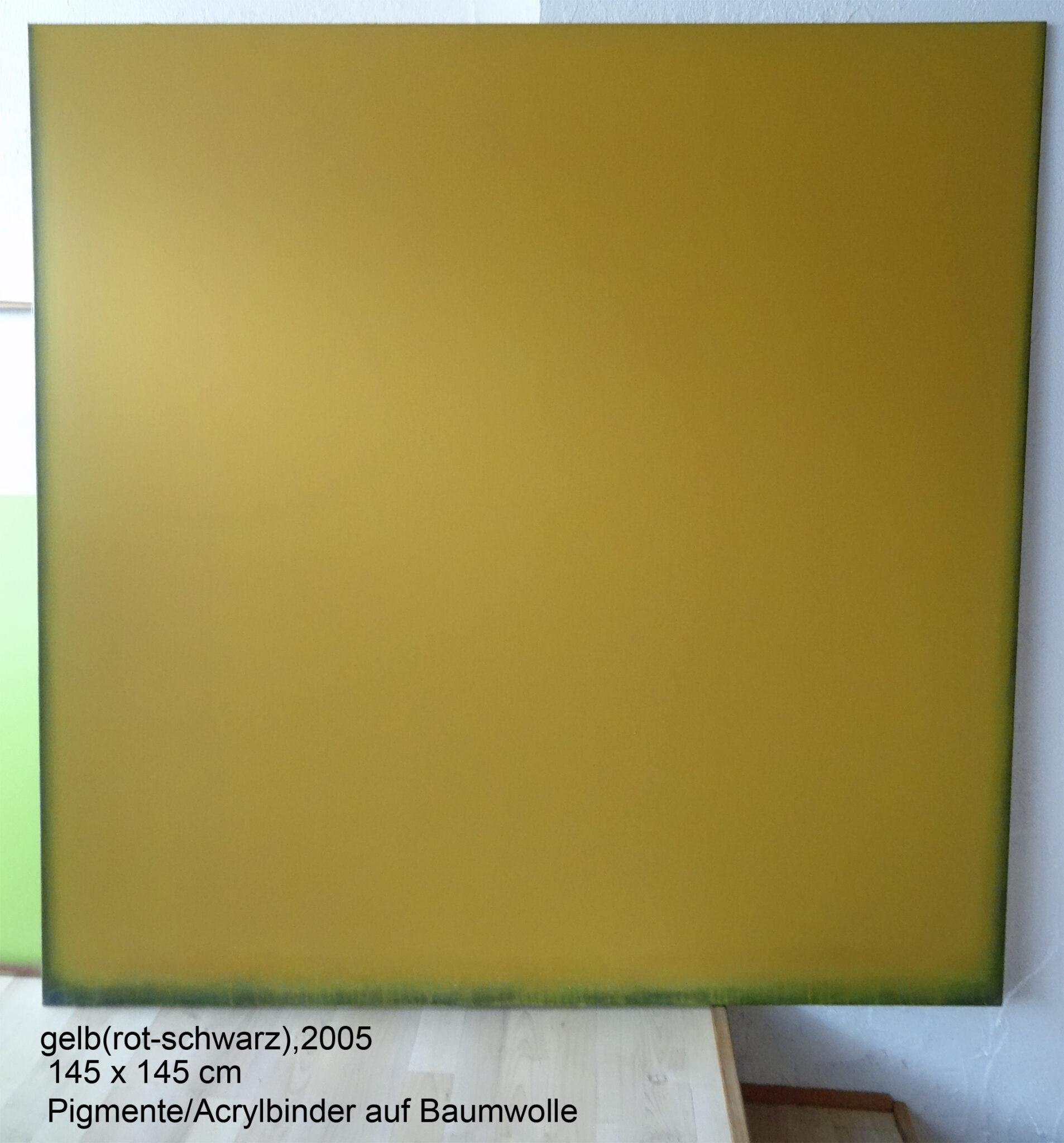 radical painting - gelb (rot/schwarz),