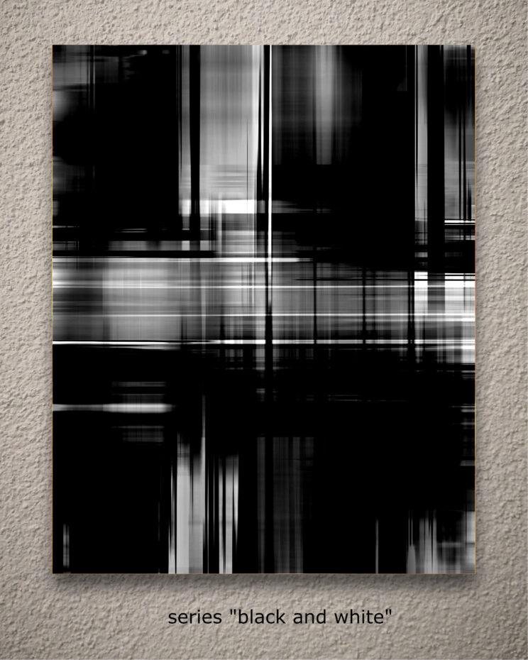 """aus der serie """"black and white"""""""