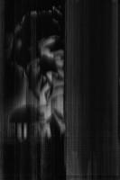 """Gesicht aus der Serie """"Film Noir"""", 2014"""