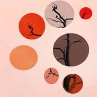 """baumkreise,2015 aus der Serie """"Bäume"""""""